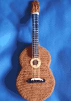 Amigurumi Guitarra Patron : Cuatro patrones gratis amigurumi de guitarra, para el A ...