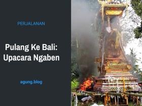 Pulang Ke Bali: Upacara Ngaben
