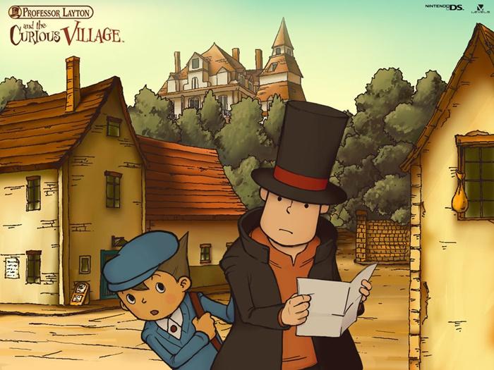 Professor Layton and the Curious Village Petualangan di Desa Penuh Teka-Teki