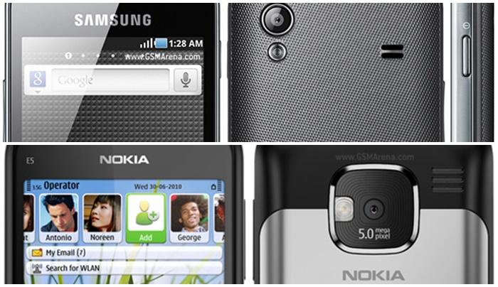 Samsung Galaxy Ace & Nokia E5-00 | pilih yang mana?