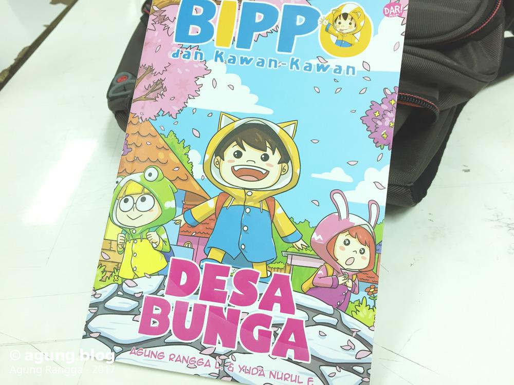 Komik Bippo dan Kawan-Kawan: Desa Bunga