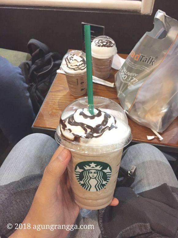 Frappuccino Starbucks Cihampelas Walk