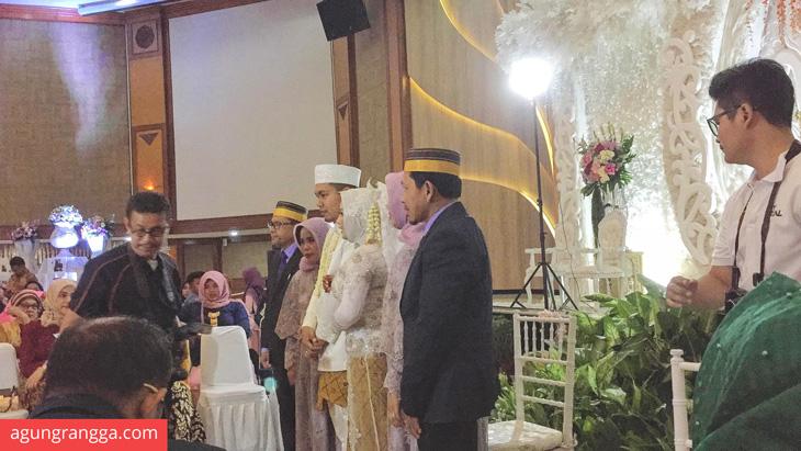 Selesai acara akad nikah