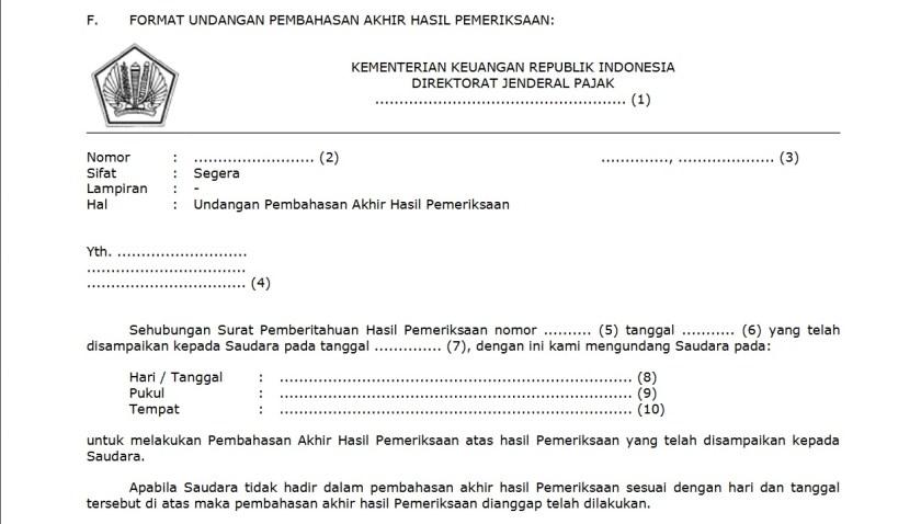 contoh format undangan pembahasan