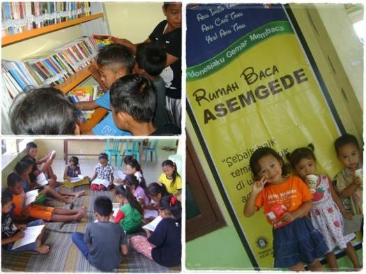 Mendidik Anak Gunung Melalui Rumah Baca Asemgede