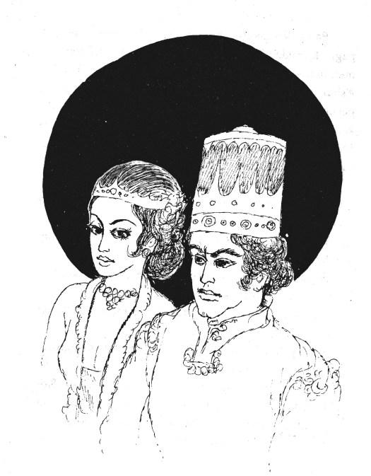 Cerita Hikayat Raja Arief Imam - Wedding ilustration by Hidayat Said