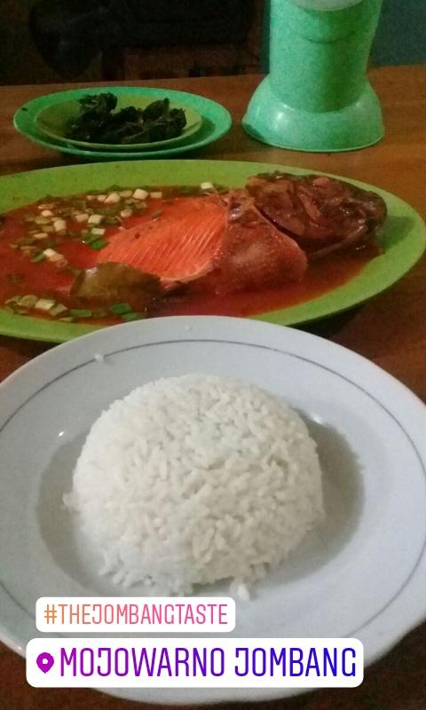 Wisata kuliner Jombang gule kepala ikan