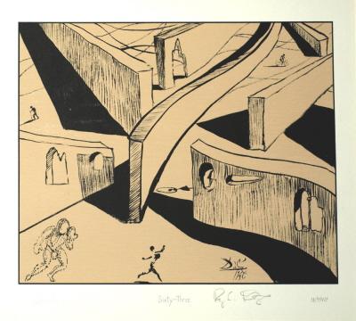Destino: Sixty-Three, de Salvador Dalí, 1947