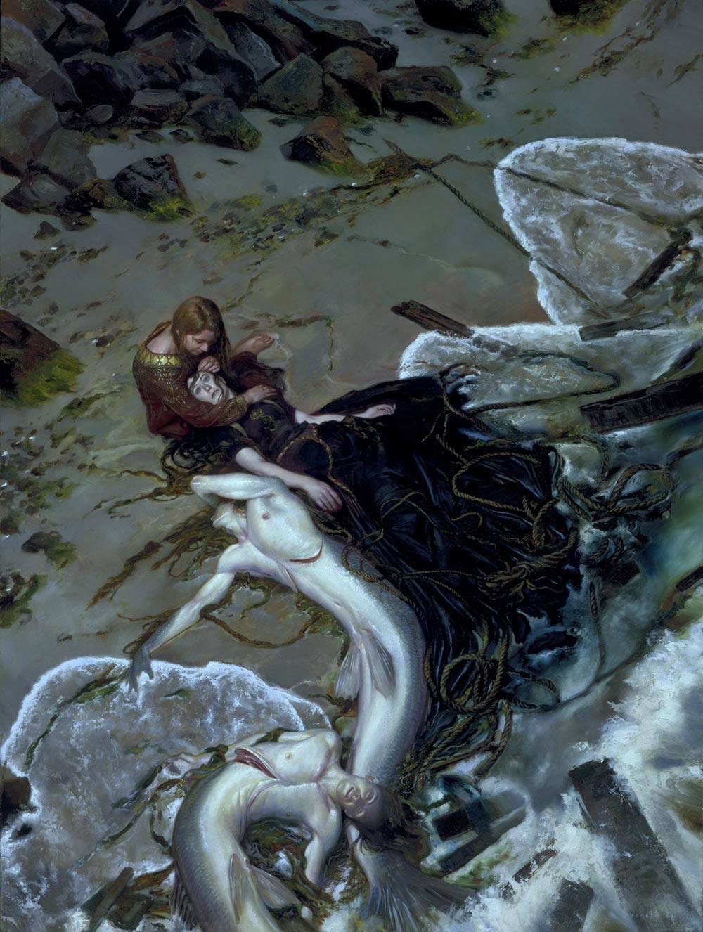The Golden Rose, de Donato Giancola, 2007