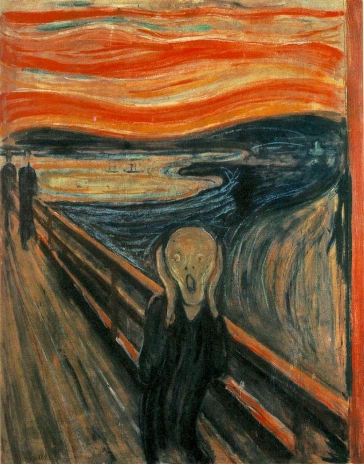 El grito, de Munch