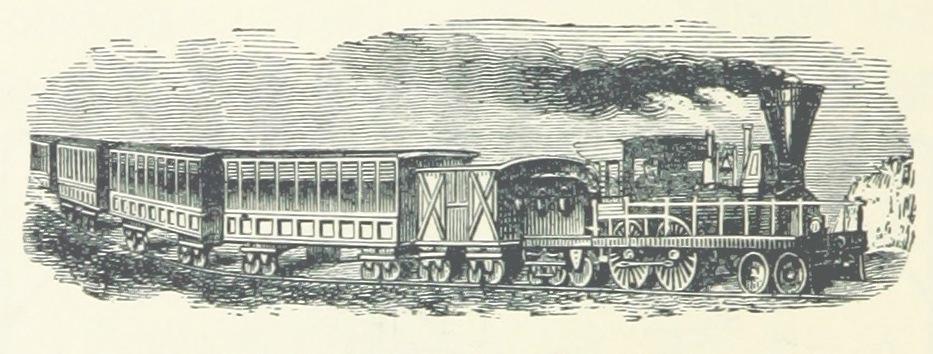 Tren que atraviesa el mundo
