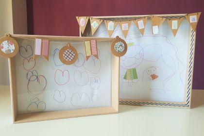 DIY marco especial para los abuelos