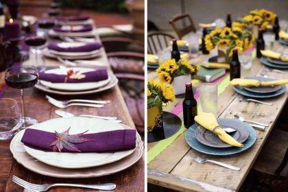 Las 5 claves del estilo campestre para decorar mesas de verano