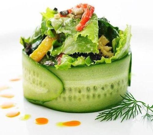 emplatados de ensaladas