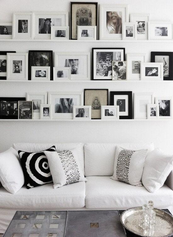 Cómo colocar cuadros en una pared (y que quede bien) - A gusto en casa