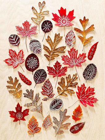 manualidades infantiles en otoño