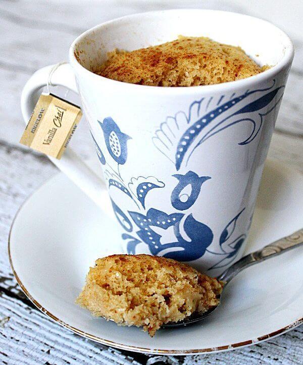 recetas de mug cake