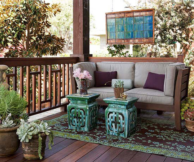 porches con encanto