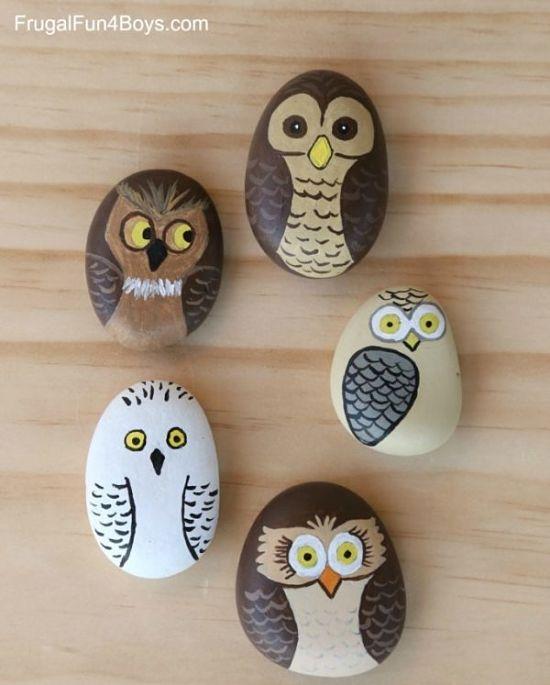 Como Pintar Piedras A Mano Miniguia Inspiradora - Dibujos-para-pintar-piedras