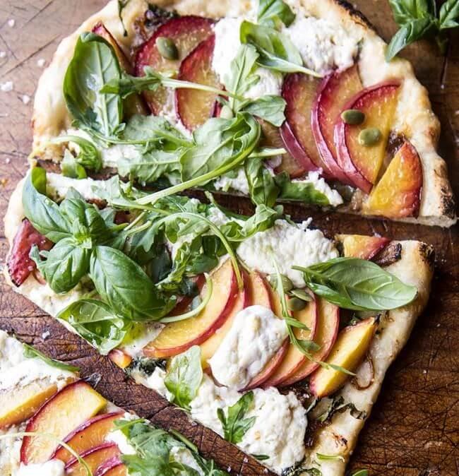 pizzas con frutas