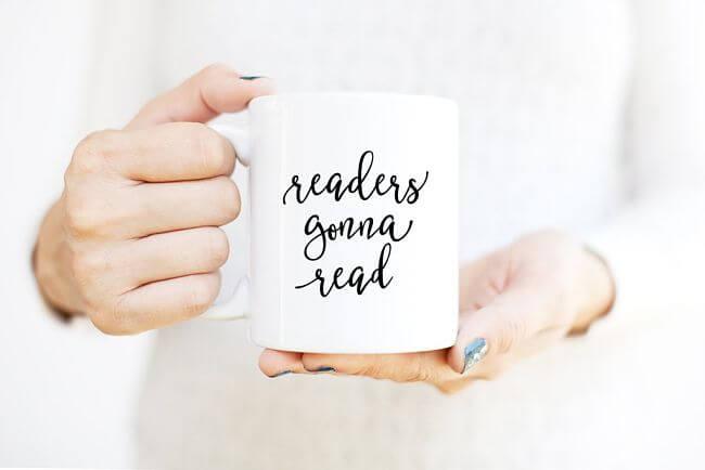 taza para grandes lectores