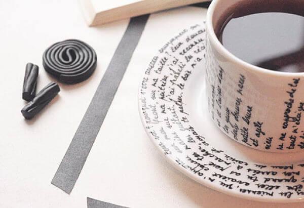 pintar tazas con rotulador