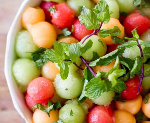 6 ensaladas con sandía