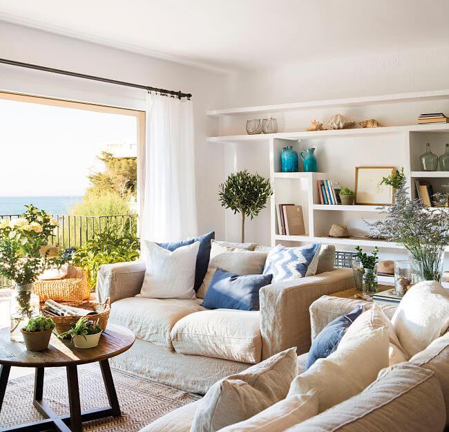 como decorar una casa en la playa