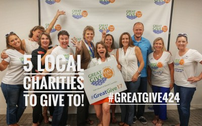 5 Local Charities to Help during the Great Give Today #GreatGive424