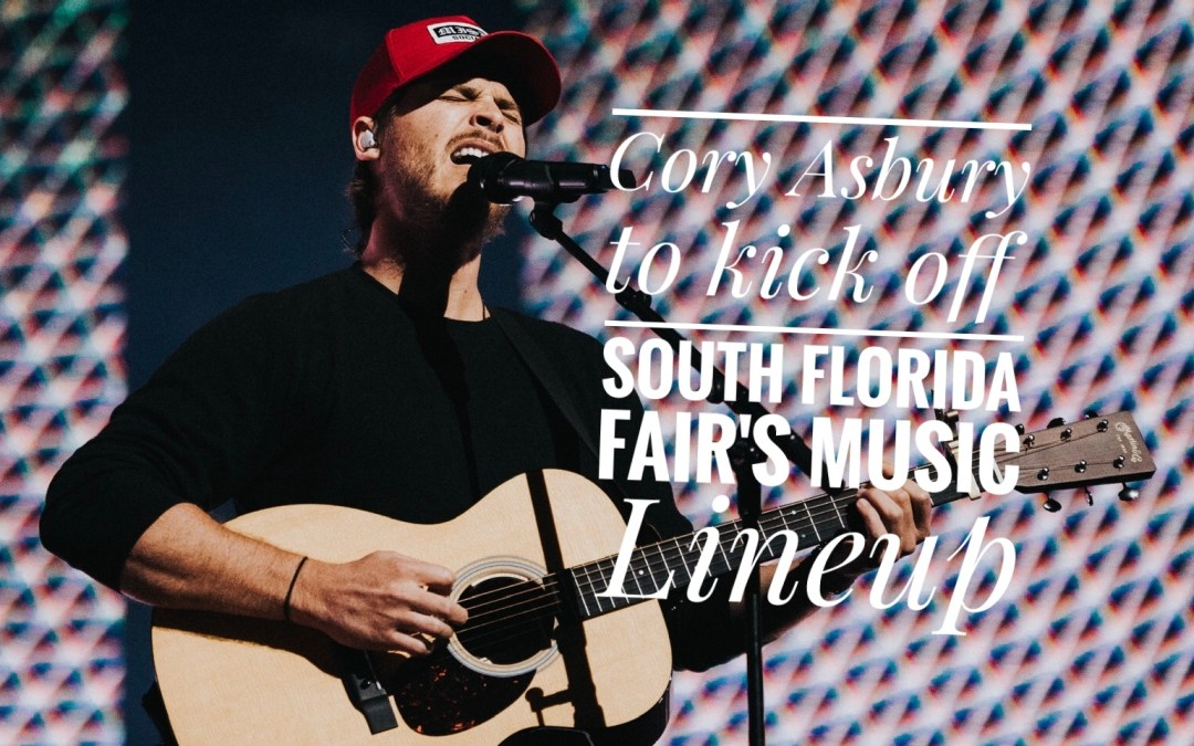 Cory Asbury to kick off South Florida Fair's music lineup