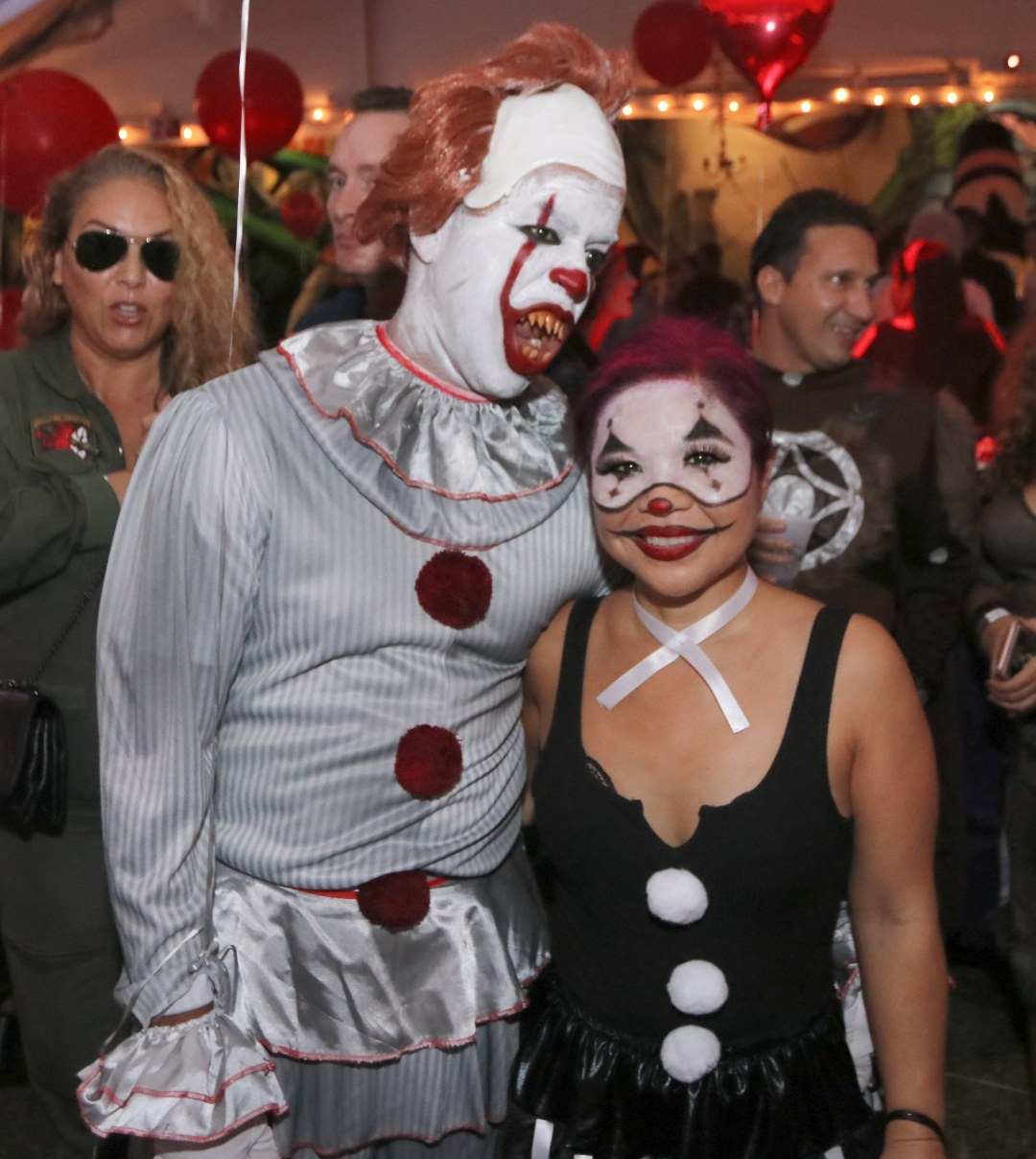 Mr & Mrs Pennywise at Moonfest 2019 (photo by: Mike Jalches)
