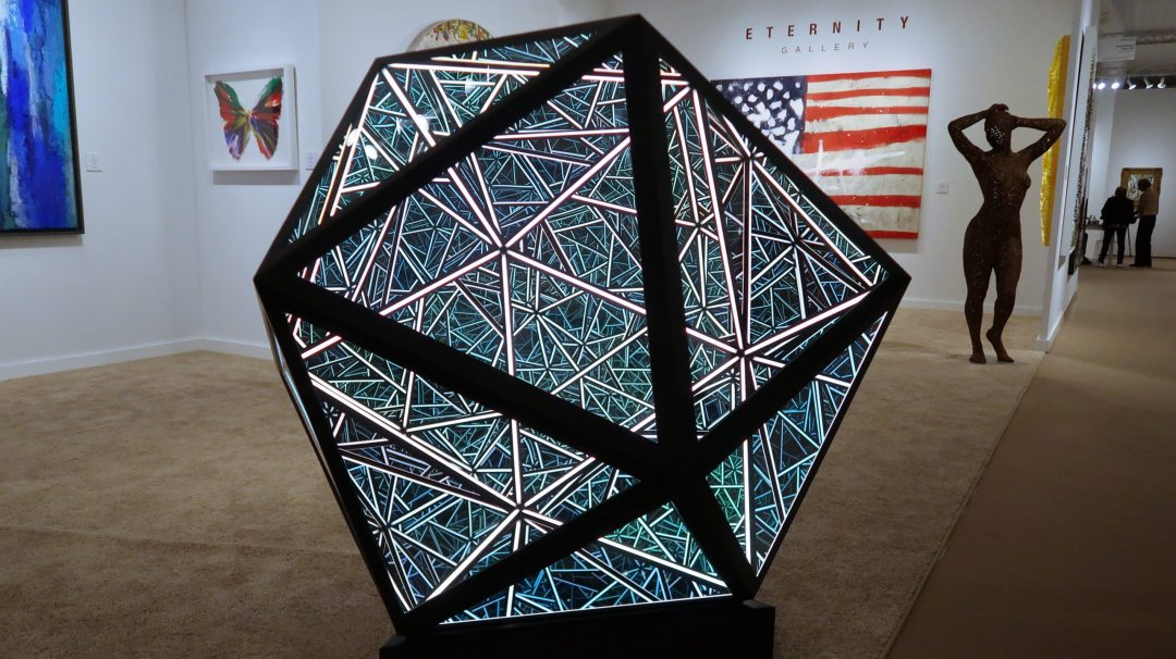 "50"" Icosahedron by  Anthony James"
