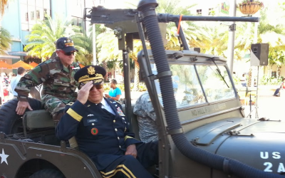 Honoring our Veterans on Clematis Street – the West Palm Beach Parade!
