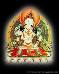 Sambhogakaya Buddha Vajrasattva