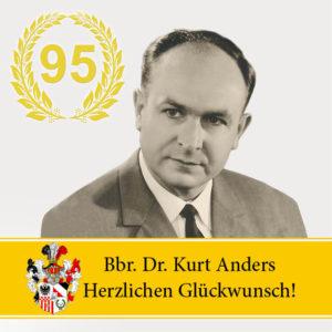 95 Jahre Dr. Kurt Anders