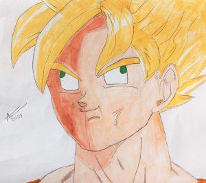 Meme SSJ Goku