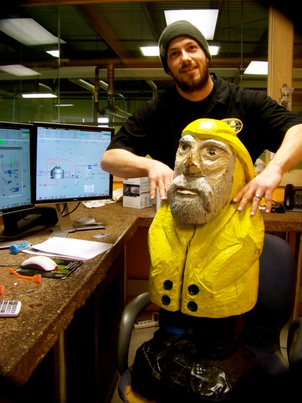 Captain Ahab of Ahab's Adventures visiting Magic Hat Brewing Company 2010