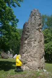 Captain Ahab of Ahab's Adventures checking out Sirius at Columcille Megalith Park in Pennsylvania 2015