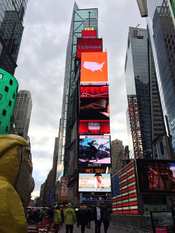Captain Ahab of Ahab's Adventures at Time Square in NYC 2015