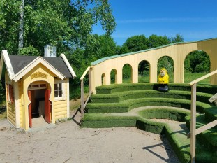 Captain Ahab of Ahab's Adventures at Little Haga inside Hagaparken in Stockholm Sweden 2016