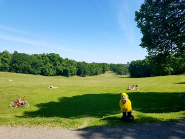 Captain Ahab of Ahab's Adventures at The Great Lawn inside Hagaparken in Stockholm Sweden 2016