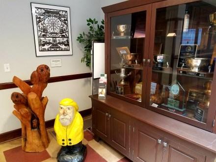 Captain Ahab of Ahab's Adventures making new friends at the Iowa State Fair 2016
