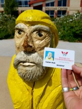 Captain Ahab of Ahab's Adventures is officially part of the class of 2020 at Western State Colorado University in Gunnison Colorado 2016
