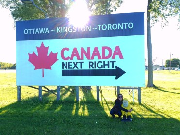 Captain Ahab of Ahab's Adventures venturing over the Canadian boarder 2016