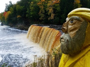 Captain Ahab of Ahab's Adventures at Upper Tahquamenon Falls in the Upper Peninsula Michigan 2016