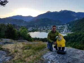 Captain Ahab of Ahab's Adventures making new friends in Futaleufu Chile 2017