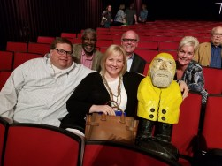 Captain Ahab of Ahab's Adventures at TEDxAkron in the Goodyear Theater making friends 2017
