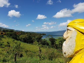 Captain Ahab of Ahab's Adventures exploring the countryside in Costa Rica 2018
