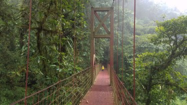 Captain Ahab of Ahab's Adventures exploring the Monteverde Cloud Forest Biological Reserve Costa Rica 2018