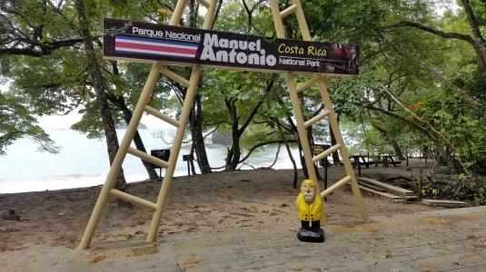 Captain Ahab of Ahab's Adventures exploring Manuel Antonio National Park in Manuel Antonio Costa Rica 2018